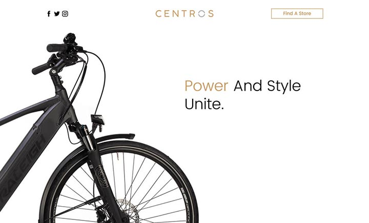 Raleigh Centros website