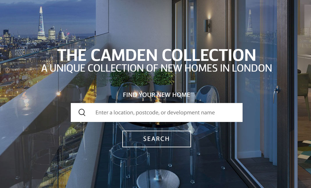 The Camden Collection website