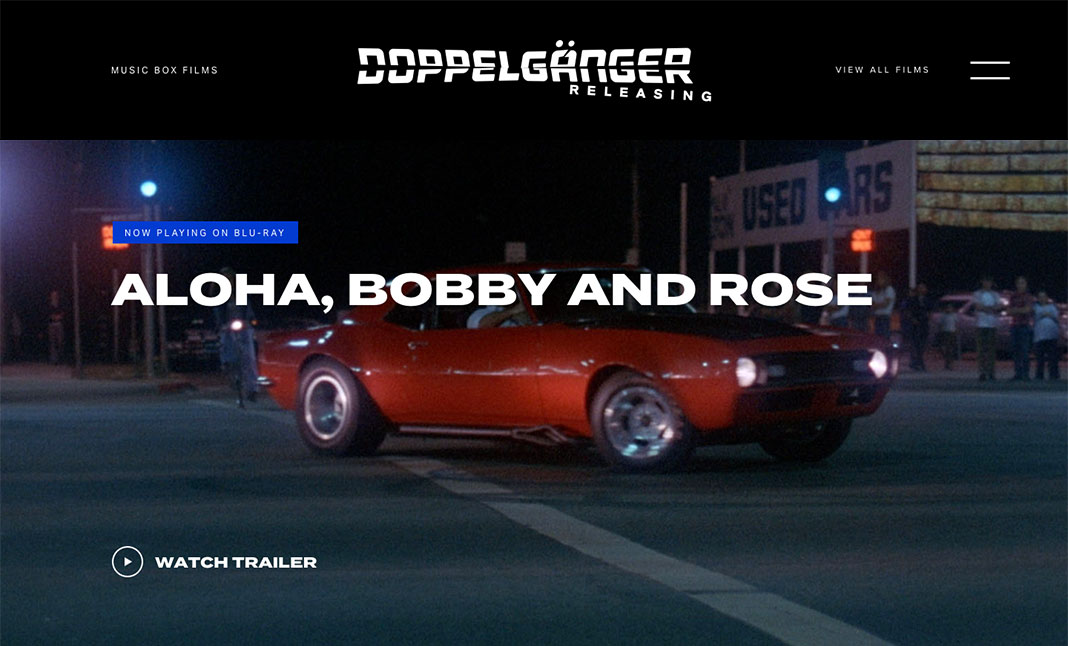 Doppleganger Releasing website