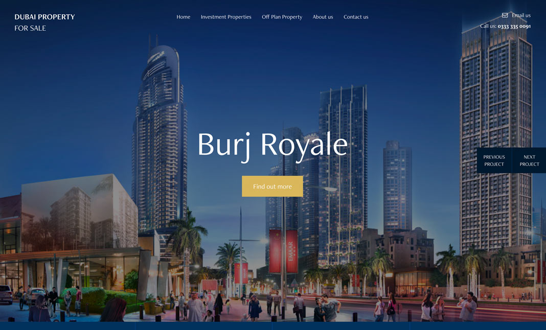 Dubai Property For Sale website