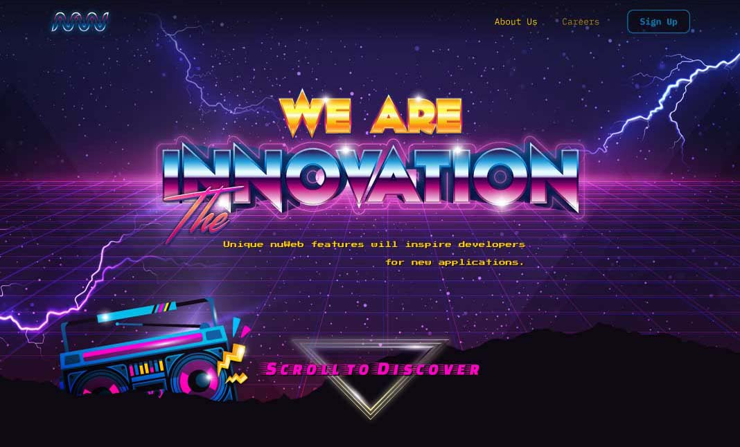 We are the Innovation website