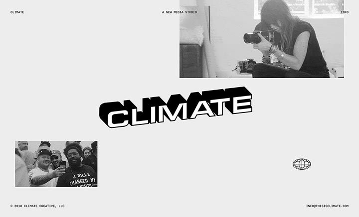 Climate website