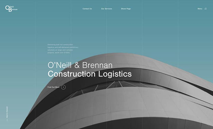 O'Neill & Brennan website