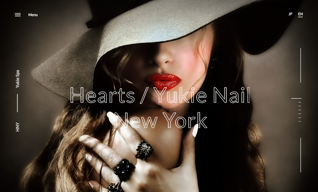 Yukie Nail And Hearts Hair NY website