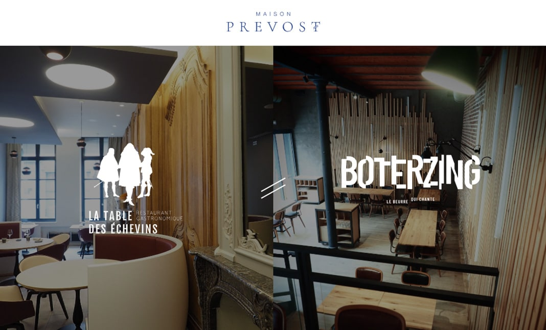 Maison Prevost website