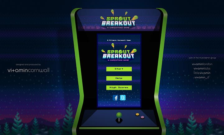 Sprout Breakout website