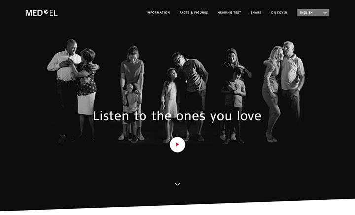 Listen to the Ones You Love website