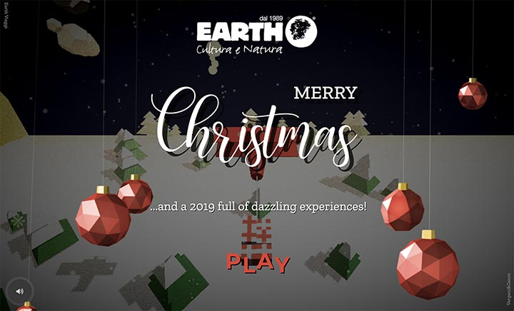 Earth - Merry Xmas website