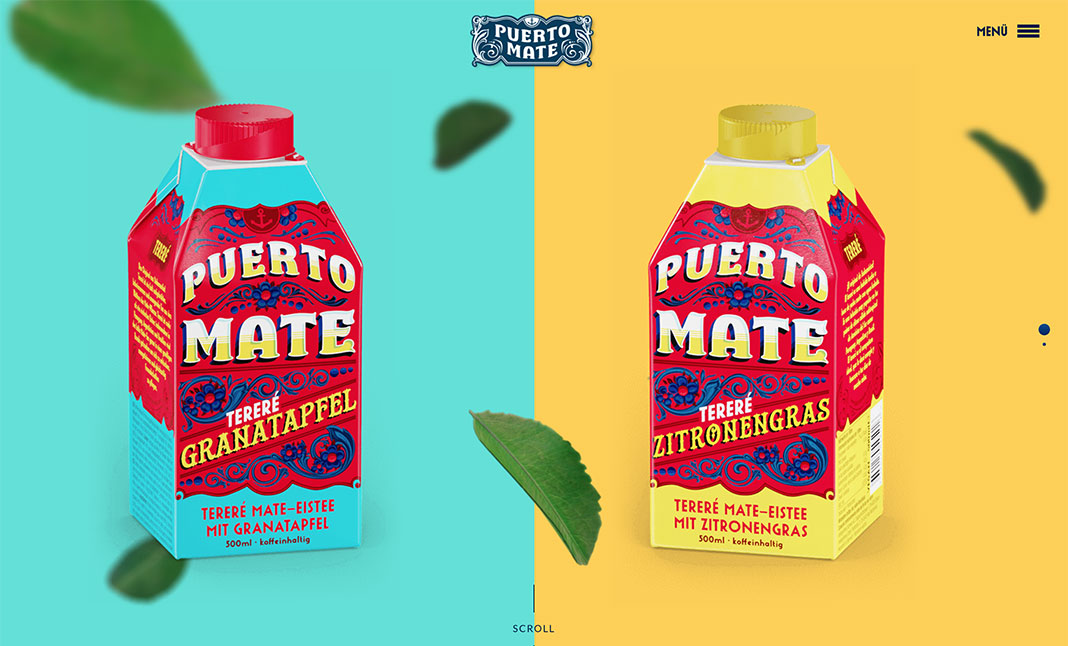 Puerto Mate website