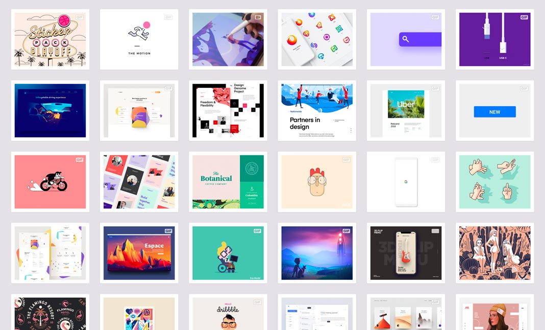 Dribbble's 2018 Year In Review screenshot 2
