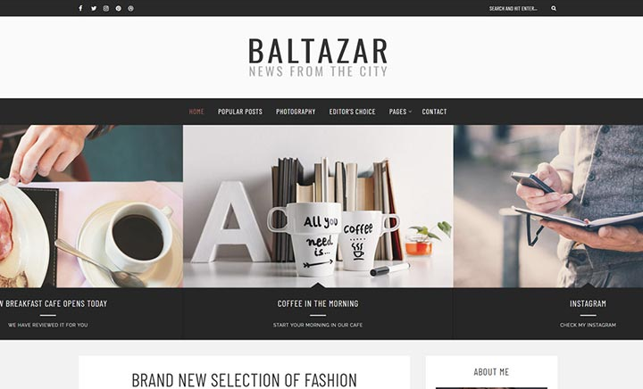 Baltazar – A Gentleman's Blog website