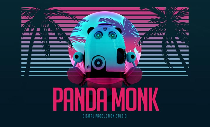 Panda Monk Studio website