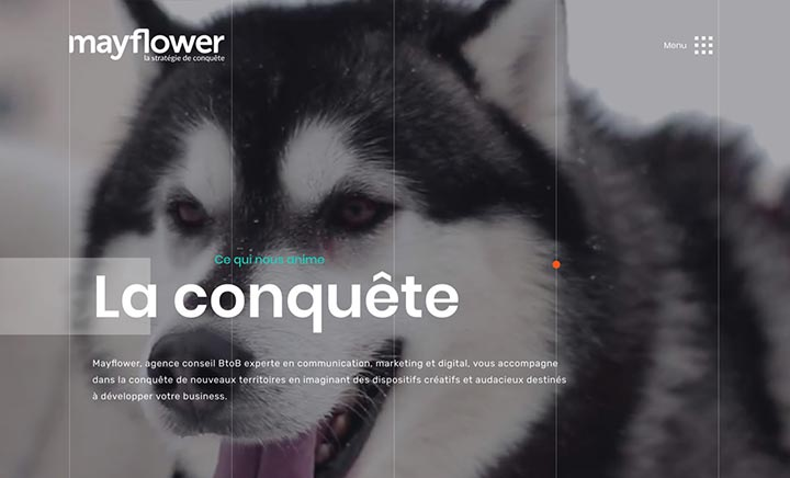 Agence Mayflower website