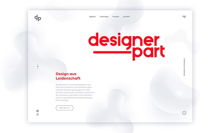 Designerpart website