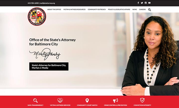 Baltimore City State's Attorney website