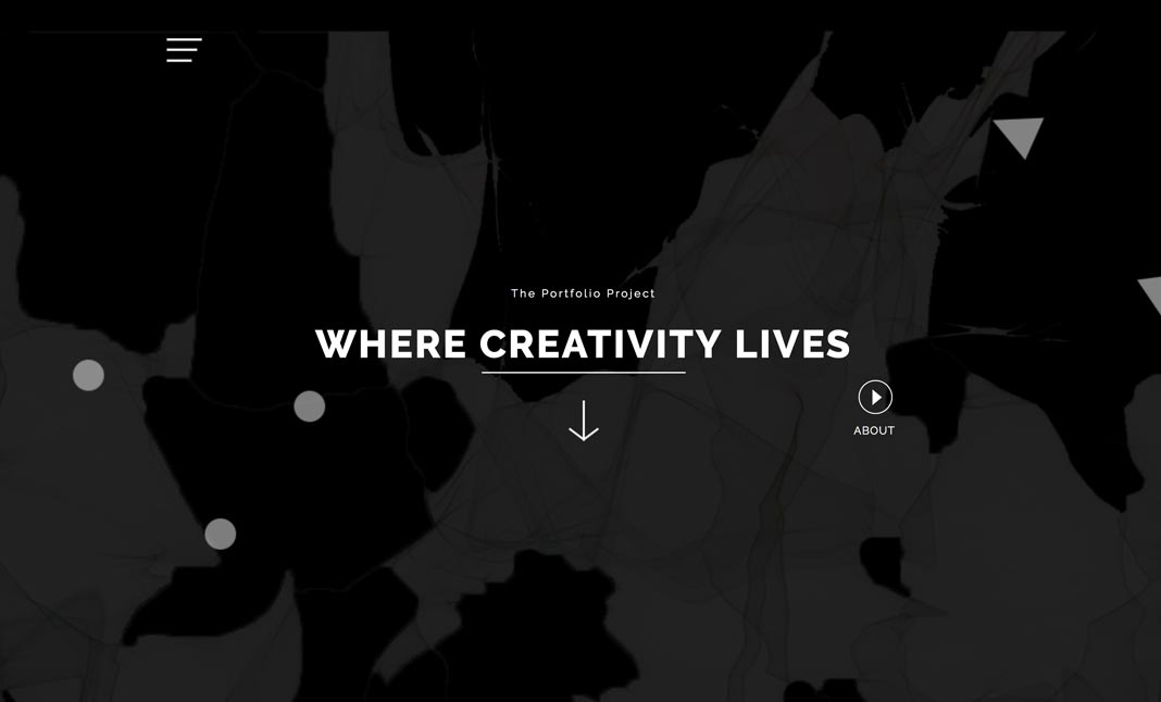 The Portfolio Project Microsite website