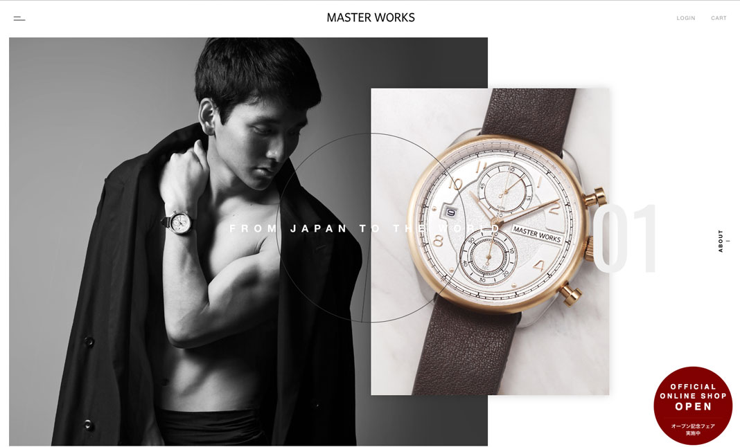 MASTER WORKS Official Site website