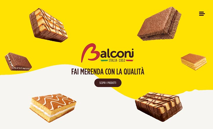 Balconi website