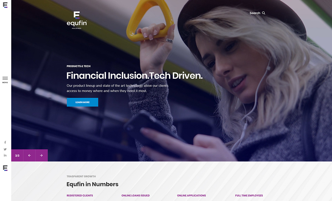 EQUFIN website