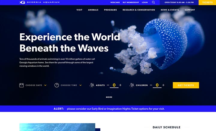 Georgia Aquarium website