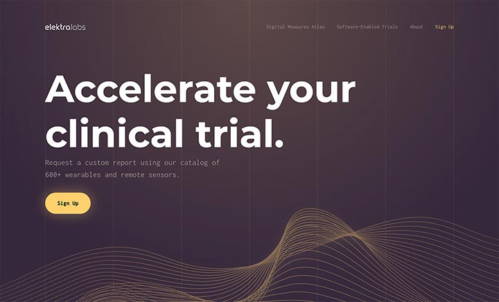 Elektra Labs website