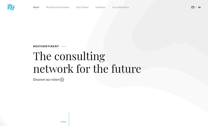NextContinent website