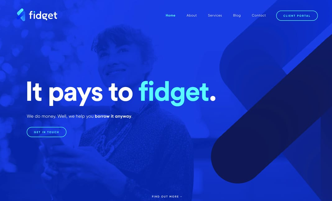Fidget website