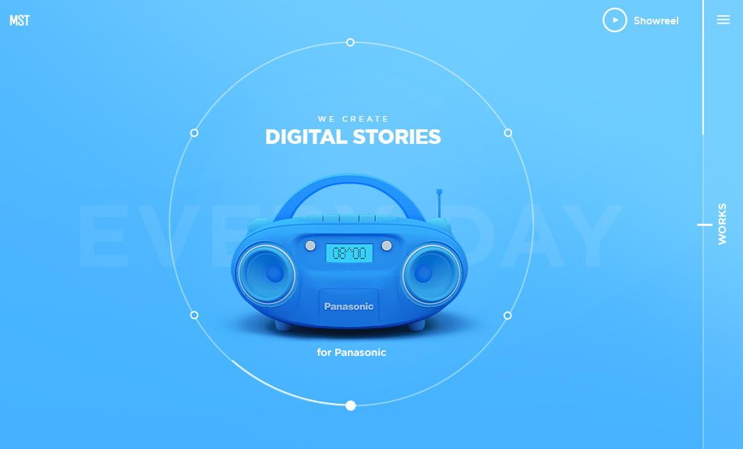 MST — We Create Digital Stories website