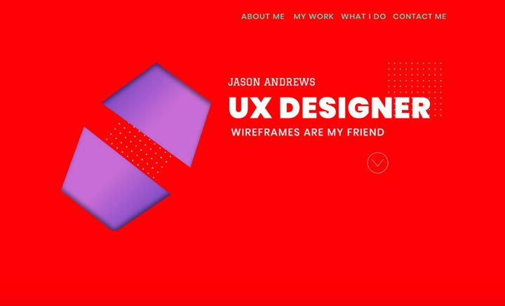 Jason Andrews ADM UX website