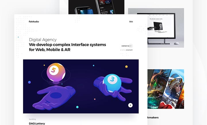 Flatstudio - Complex interfaces
