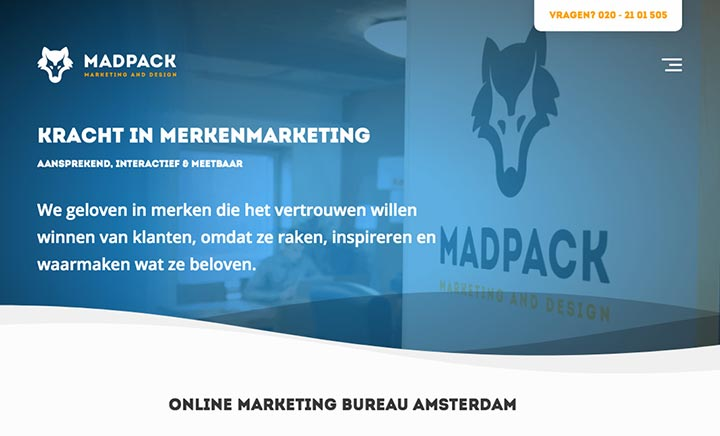 Mad Pack website