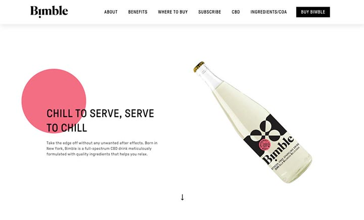 Drink Bimble website