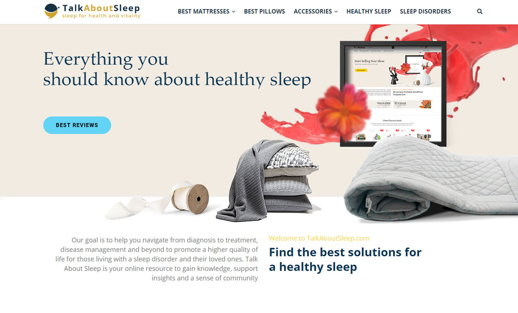 Talk About Sleep website