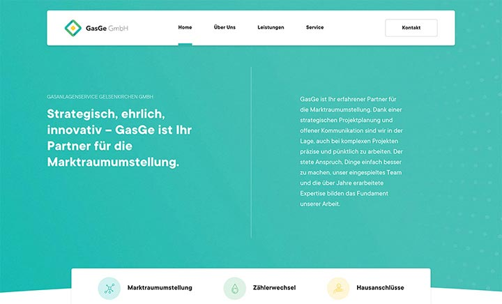 GasGe GmbH website