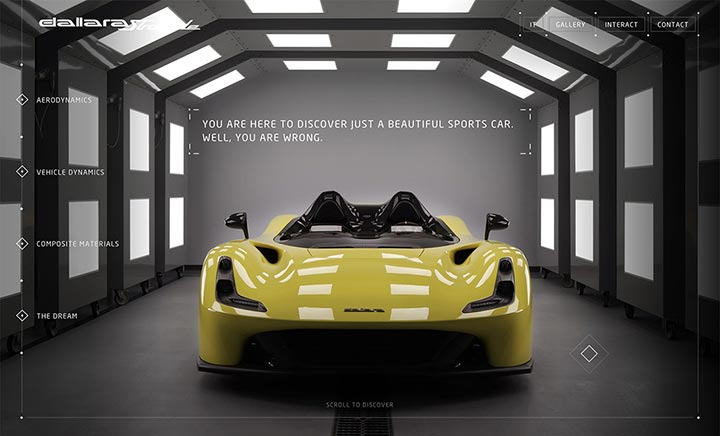 Dallara Stradale website