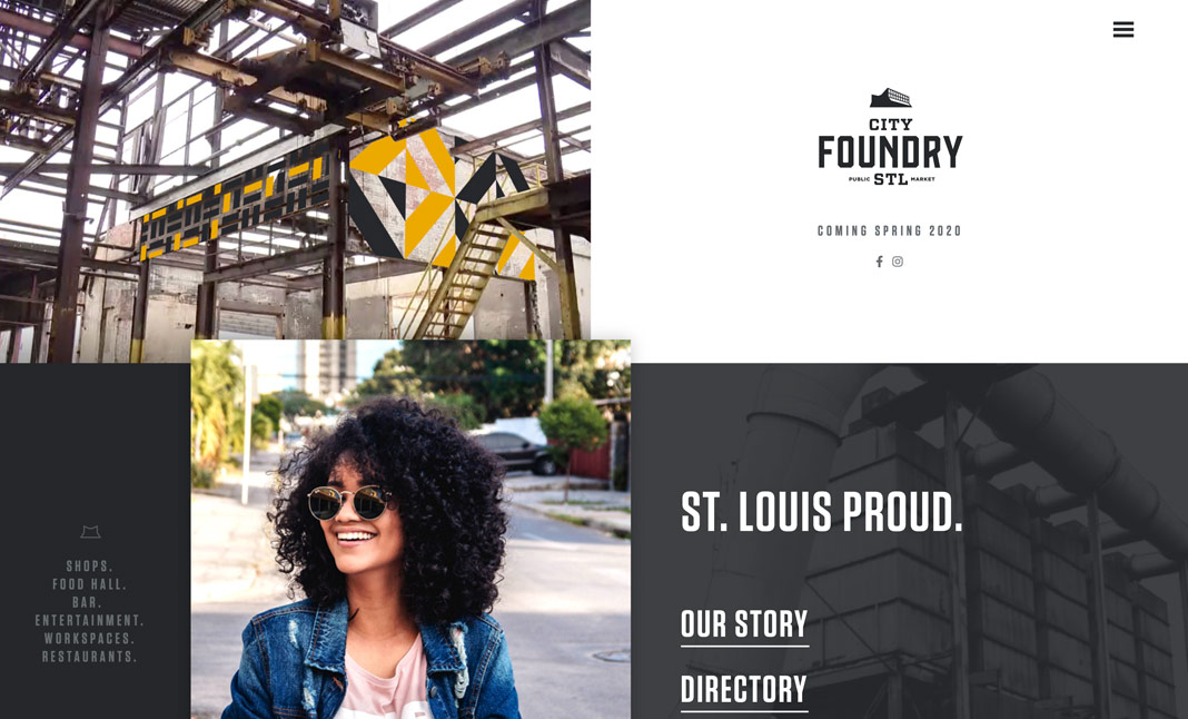 City Foundry STL website