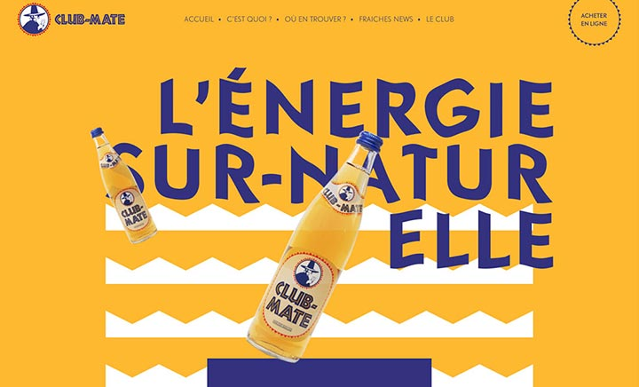 Club-Mate France website