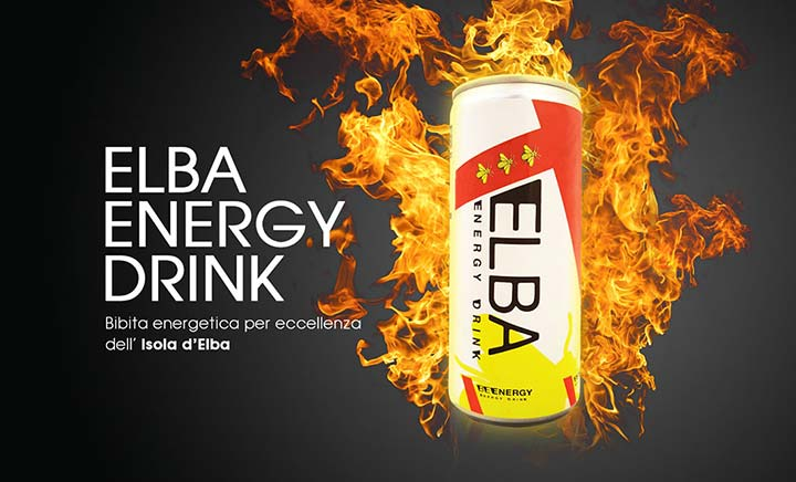 Elba Energy Drink website