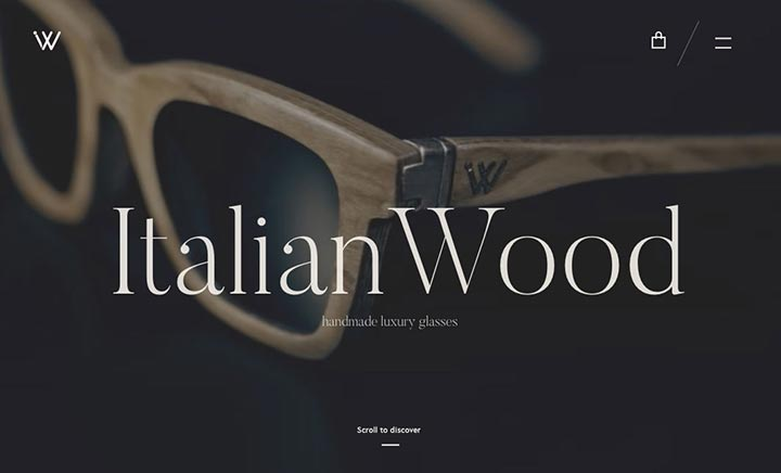Italian Wood website