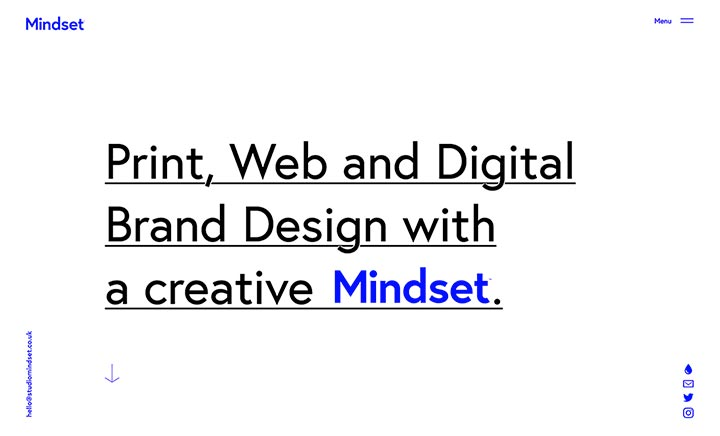 Studio Mindset website