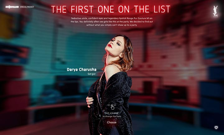 The First On The List website