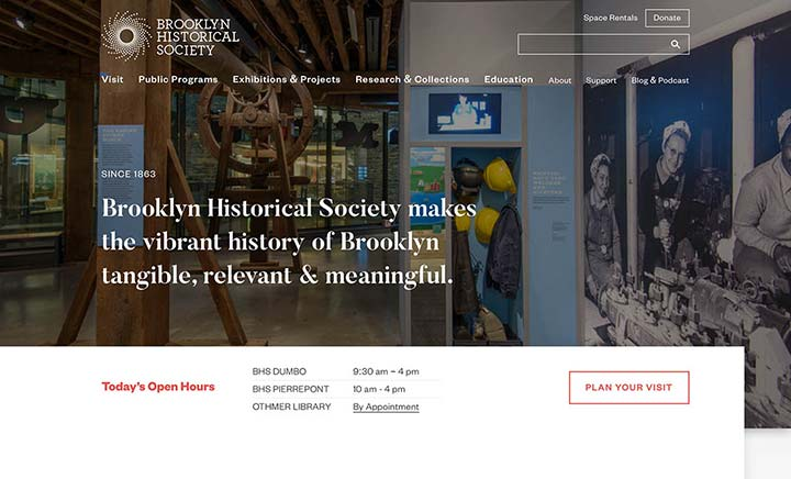 Brooklyn Historical Society website
