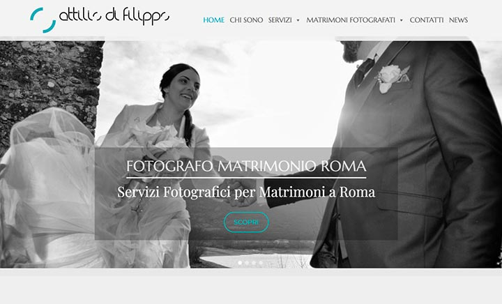 Fotografo Matrimonio Roma website