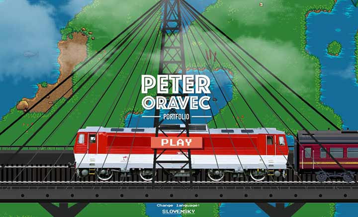 Peter Oravec Portfolio website