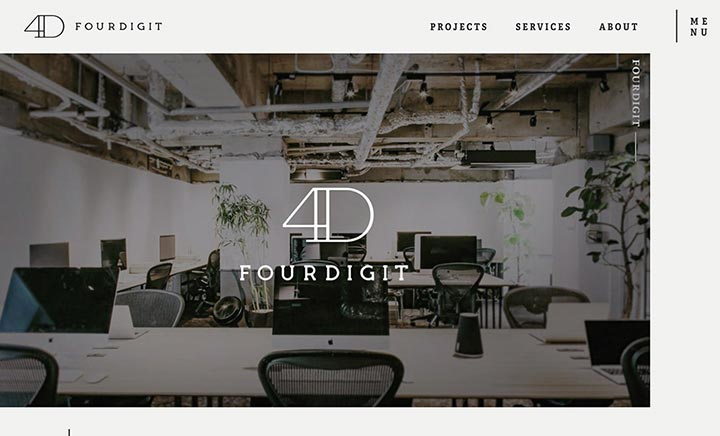 FOURDIGIT Inc. website