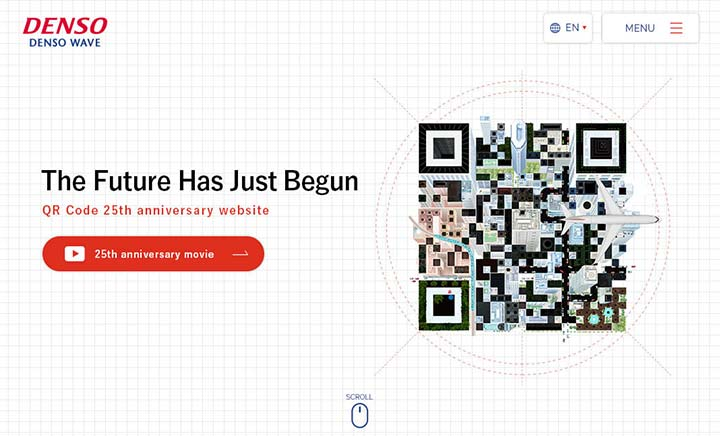 QR Code 25th Anniversary website
