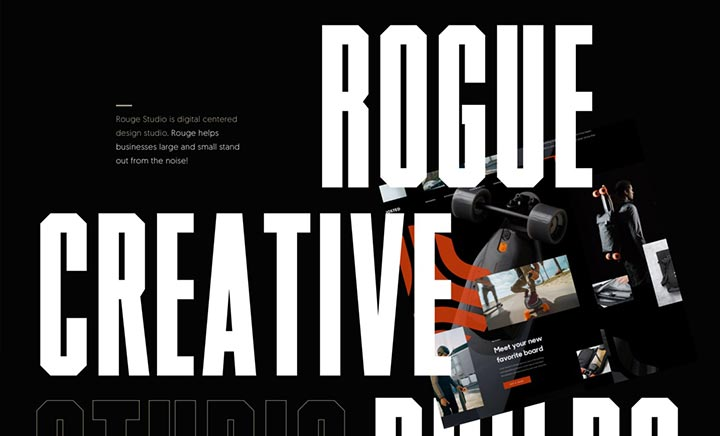 Rogue Studio website