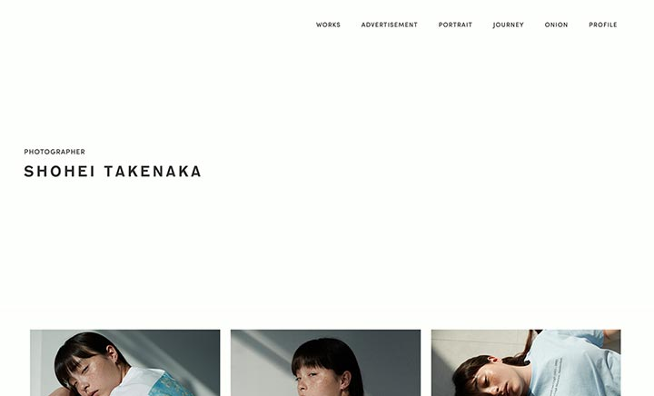 SHOHEI TAKENAKA website