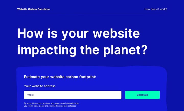 Website Carbon website