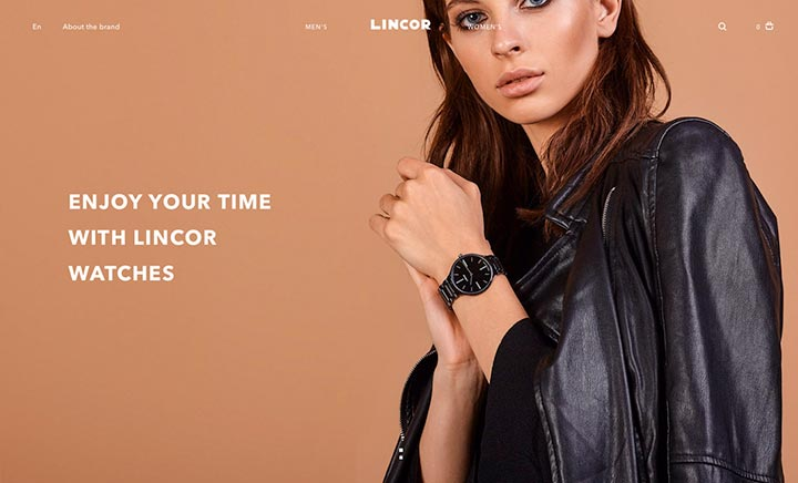 Lincor website